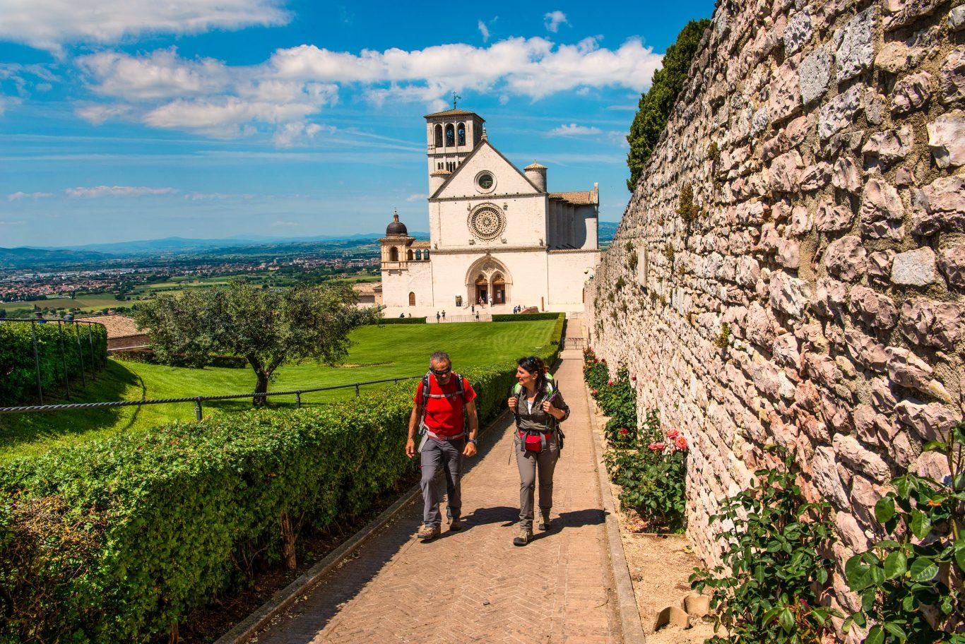 Via di Francesco Basilica San-Francesco-Assisi-Fabrizio-Ardito