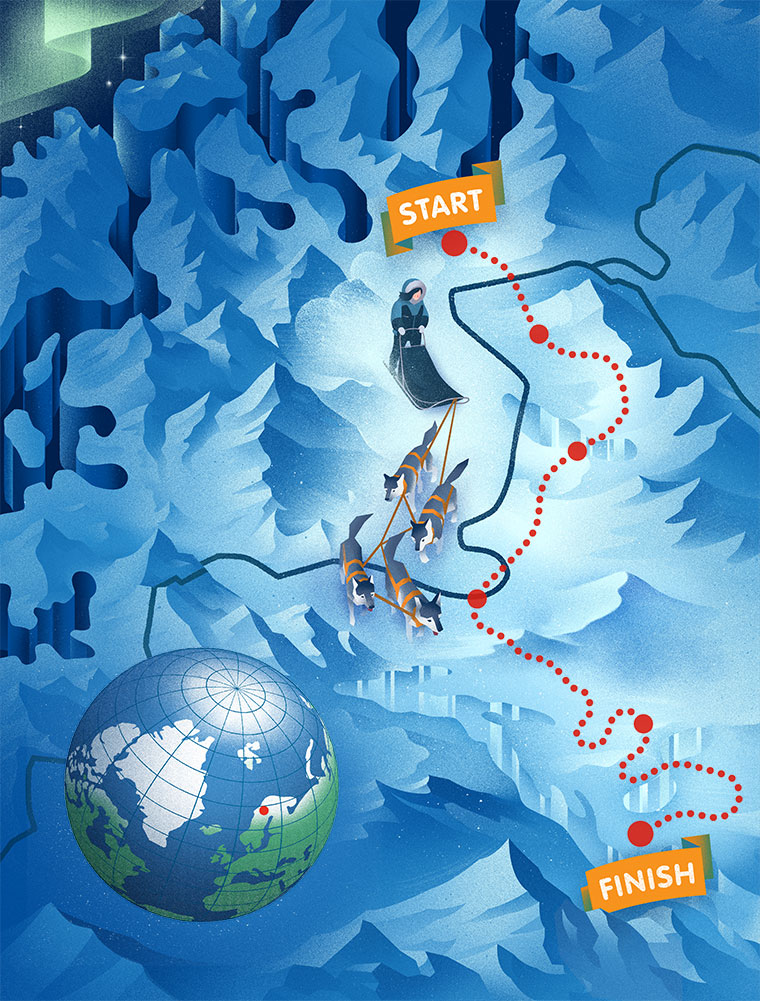 mappa polare