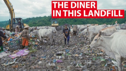 indonesia Methane-Gas-Canteen