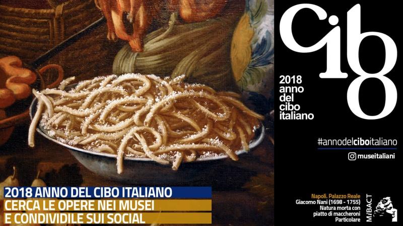 locandina anno nazionale cibo italiano