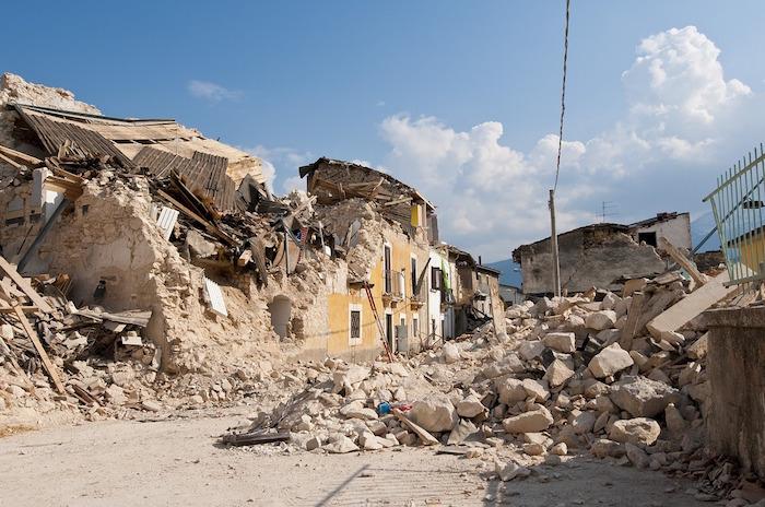 protezione civile terremoto