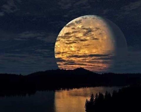 superluna boschi