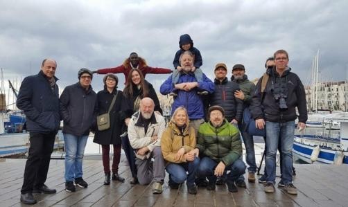 N-ICE CELLO: il tour si è concluso a Palermo con lo scioglimento del violoncello di ghiaccio nelle acque del Mar Mediterraneo.