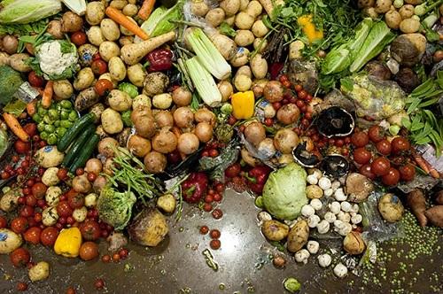 spreco alimentare: avanzi di cibo