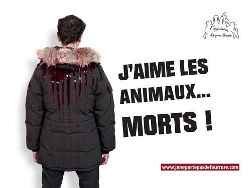 La campagna shock di Brigitte Bardot.