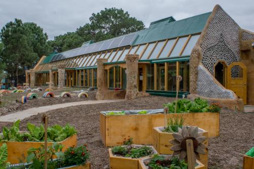 Escuela sustentable de Jaureguiberry