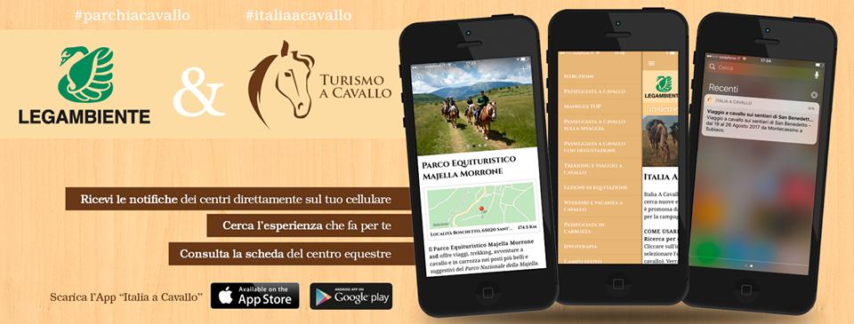L'applicazione dedicata al turismo equestre