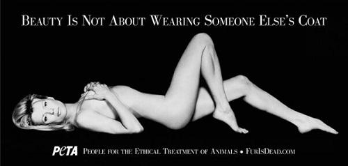 Kim Basinger per PETA - Ph: Greg Gorman