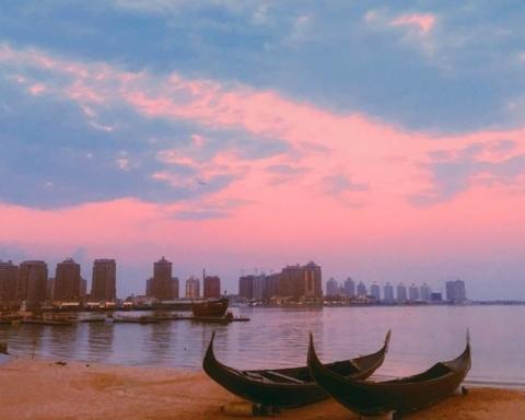 "Fonte: pagina FB ""Visit Qatar"""