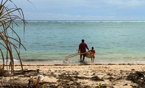 "Un'immagine tratta dal documentario ""Thule Tuvalu"" di Matthias von Gunten"