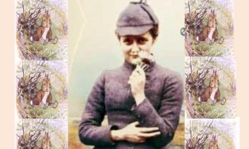 Beatrix Potter nasce in una famiglia ricca nella Londra dell800 e fin da piccola mostra la sua passione per il disegno e gli animali.