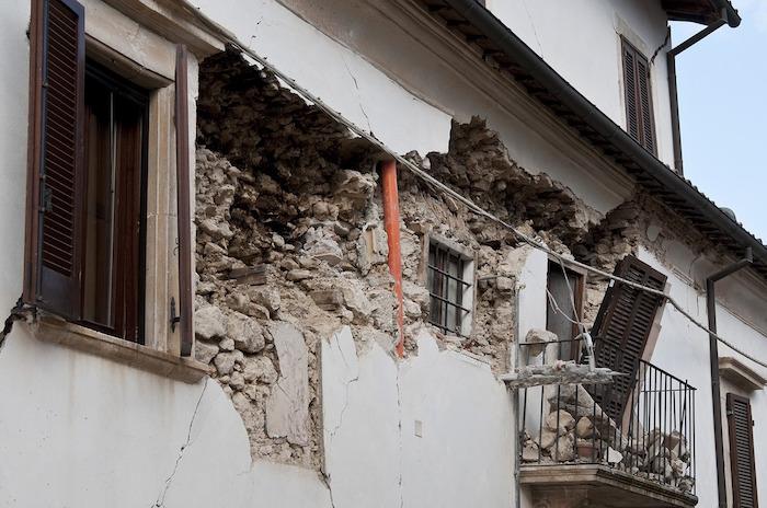 consumo di suolo terremoto