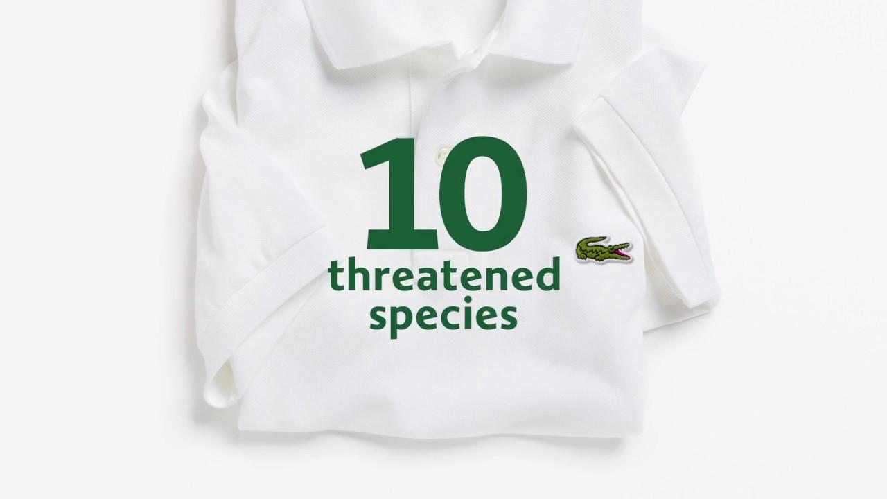 Save Our Species: 1775 polo Lacoste per proteggere la natura