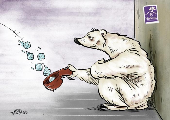 Carità glaciale. lorso polare e la lotta per la sopravvivenza