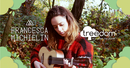 Francesca Michielin per Treedom