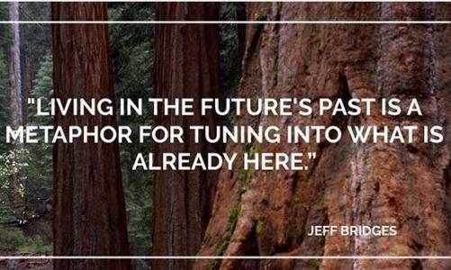"""Living in the futures past: una metafora per sintonizzarci su quello che è già qui. Fonte foto: pagina FB """"Living in the Futures Past"""""""
