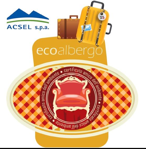EcoAlberghi Acsel Valsusa turismo sostenibile gestione rifiuti riduzione