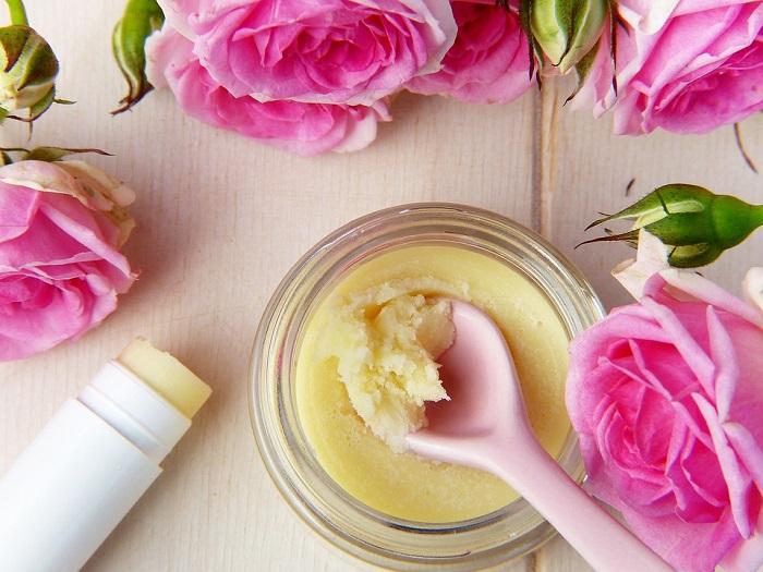 La rosa è ingrediente base di molti prodotti cosmetici