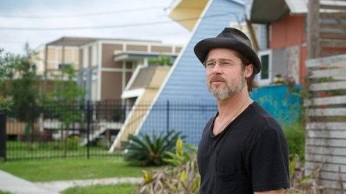 Brad Pitt testimonal del progetto Make It Right