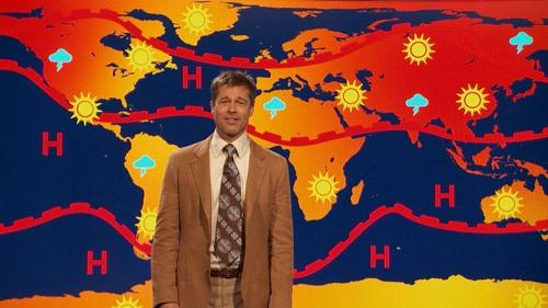 -Brad Pitt-Previsioni del Tempo-