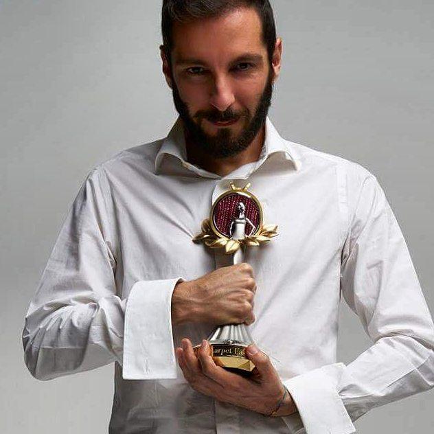 Tiziano Guardini. Premio Franca Sozzani Best Emerging Designer. Ph Antonio Barrella