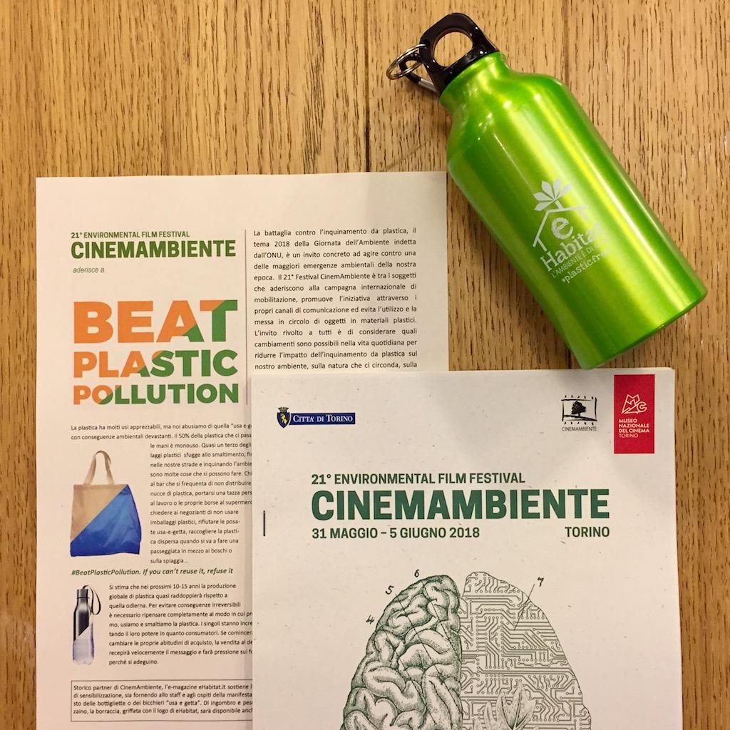 Giornata Mondiale dell'ambiente: borracce plastic free