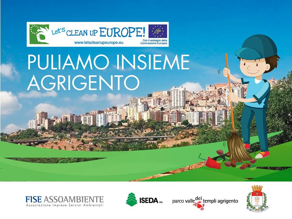 Let's Clean Up Europe. Puliamo Agrigento