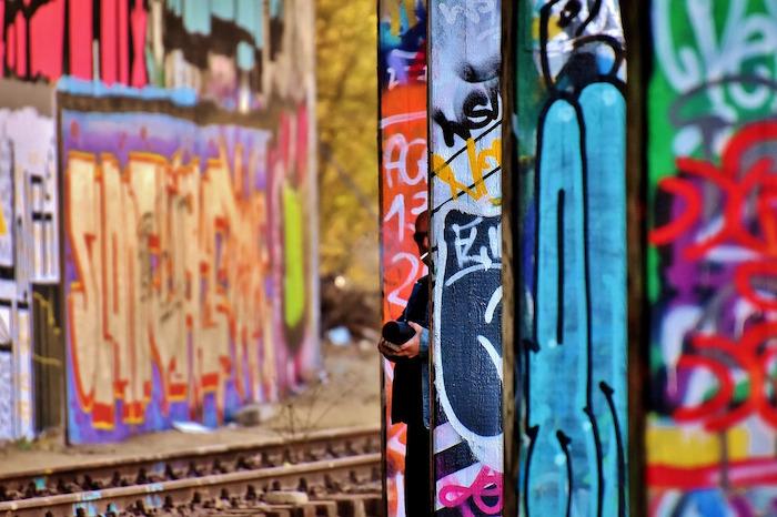 stazioni impresenziate murales