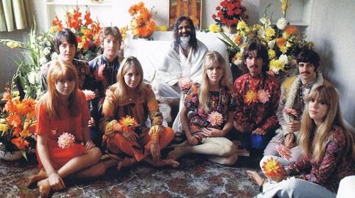 I Beatles in India con - Ph: Babboleo.it
