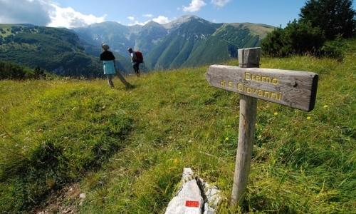 """Sentiero dello Spirito: si può suddividere in 4 tappe. Fonte foto: pagina FB """"Parco Nazionale della Majella"""""""