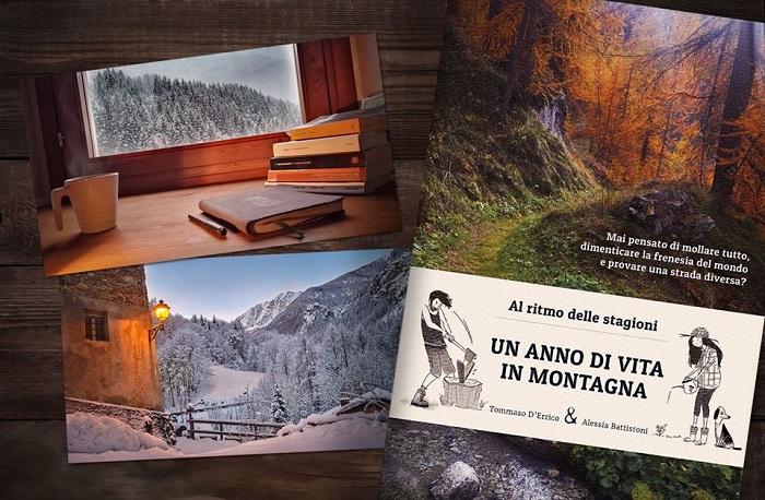 Un anno di vita in montagna, il libro