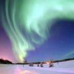 aurora boreale polo nord