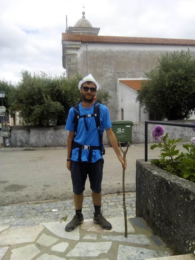 Riccardo Lanzafame ha raccontato a eHabitat la prima parte del suo cammino verso Santiago