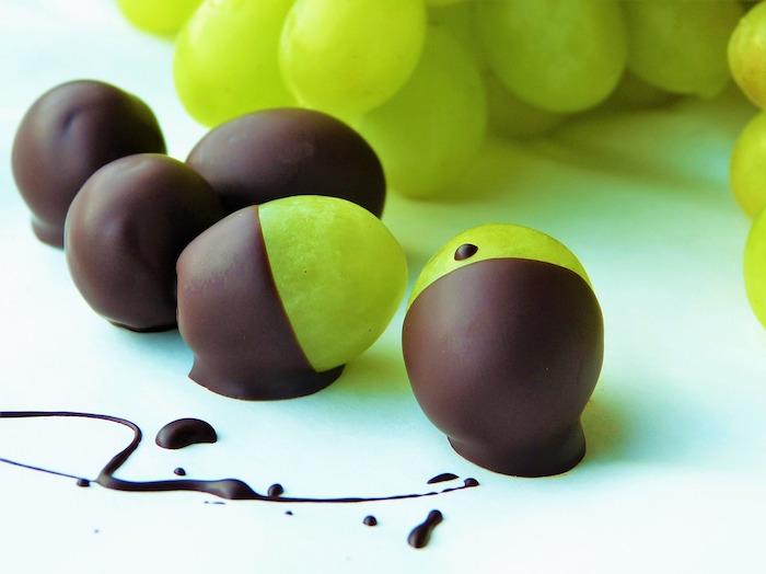 stanchezza uva cioccolato