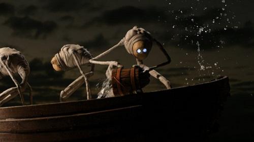 Una scena tratta dal videoclip di Eyes Wide Open