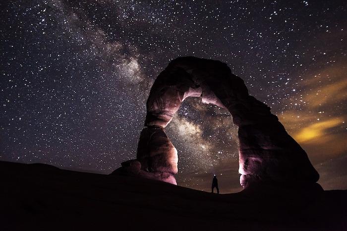 dark sky parks cielo stellato arco