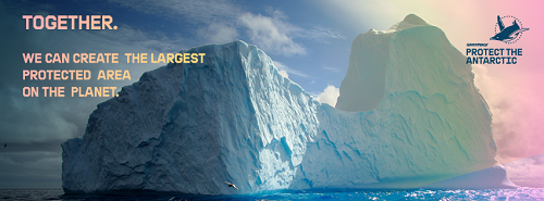 -Greenpeace-Hands off the Antarctic-