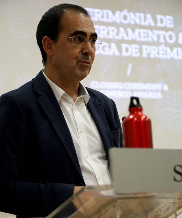 Forum dei festival ambientali: il direttore Mario Braquinho durante la consegna dei premi di Cine Eco Seia 2019