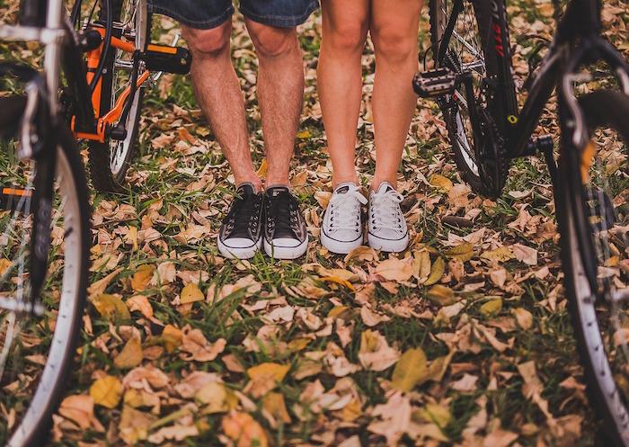 restare giovani bicicletta