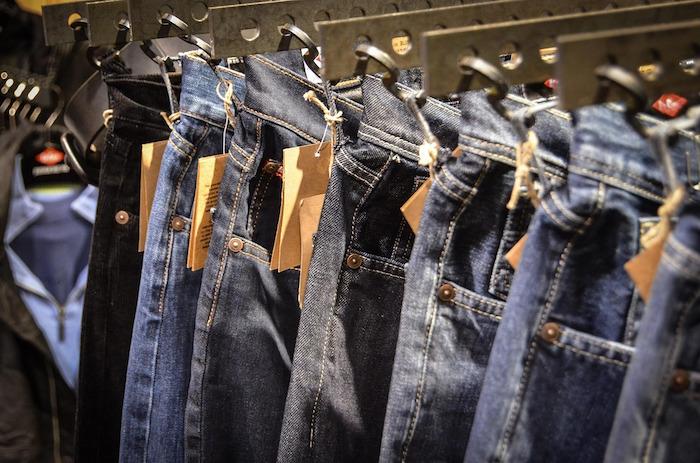 jeans negozio