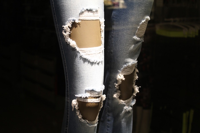 jeans trattati