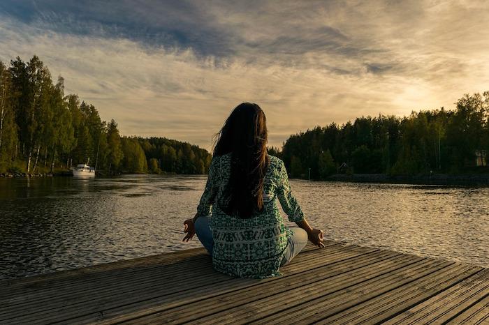 meditazione lago
