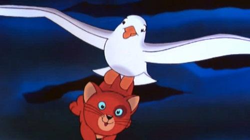 -La gabbianella e il gatto-scena-