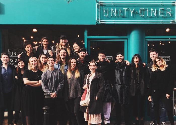 "Fonte foto: pagina FB ""Unity Diner"""
