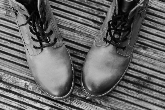 camminare al freddo scarpe