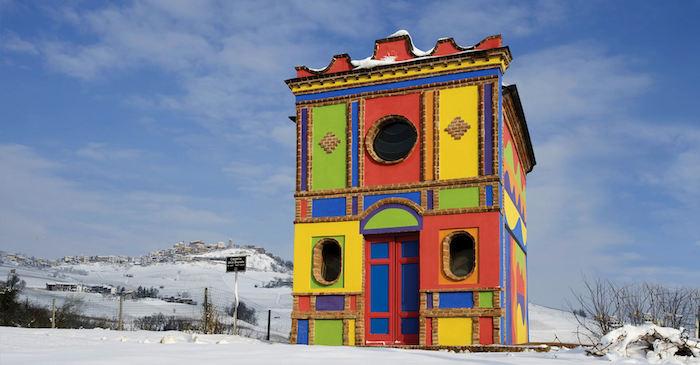 cappella del barolo inverno