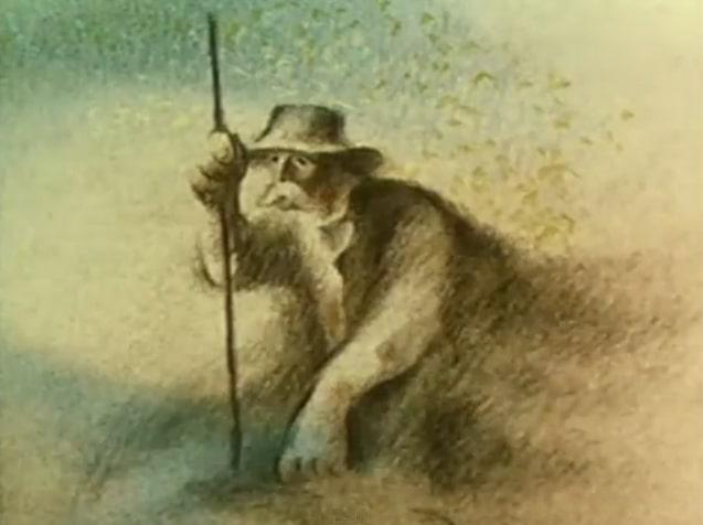 L'uomo che piantava gli alberi di Frédéric Back, tratto dal racconto di Jean Giono