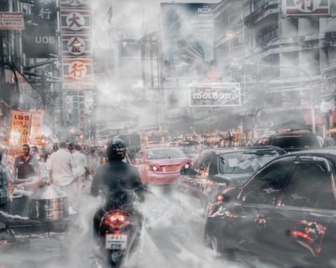 Bangkok, indice di qualità dell'aria 92