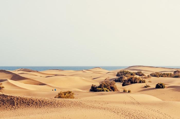 cammino di santiago gran canaria dune di sabbia