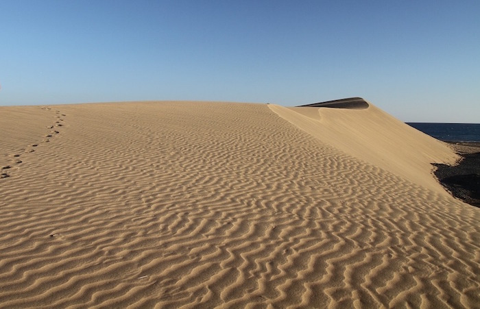 cammino di santiago gran canaria dune